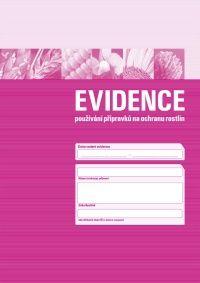 Evidence používání přípravků na ochranu rostlin - 1 balení (3 sešity)