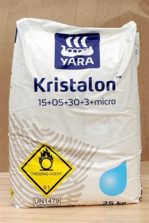 KRISTALON BÍLÝ 25kg