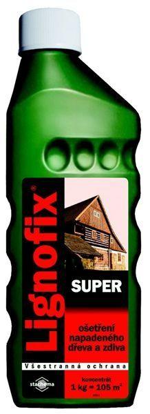 Lignofix Super bezbarvý 0,9kg