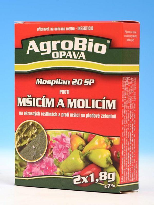 Proti mšicím a molicím MOSPILAN 20 SP 2x1,8g