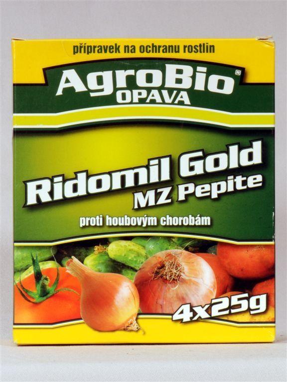 RIDOMIL GOLD MZ PEPITE 4×25g