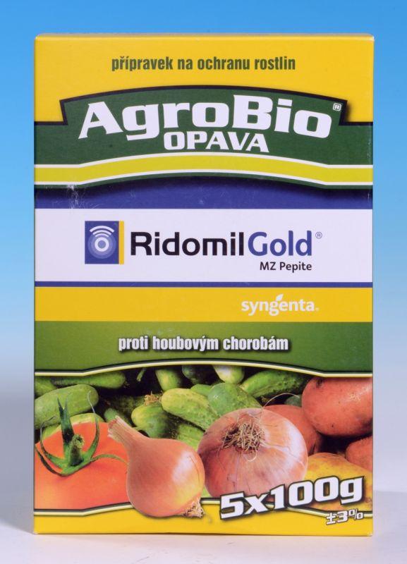 RIDOMIL GOLD MZ PEPITE 5×100g