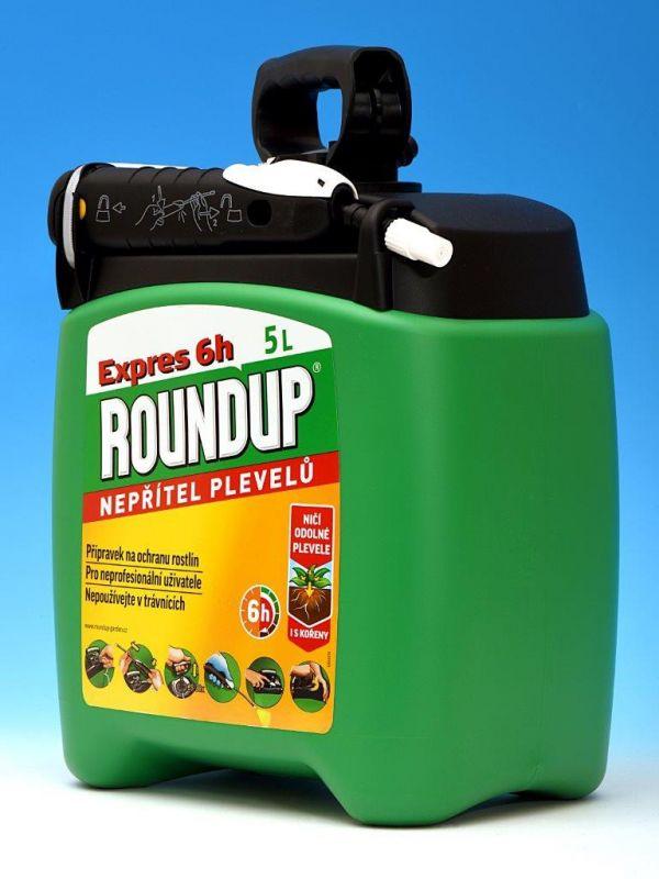 Roundup Expres 5L Pump & Go