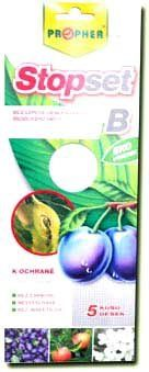 STOPSET B desky bílé 25×10 cm 5 ks