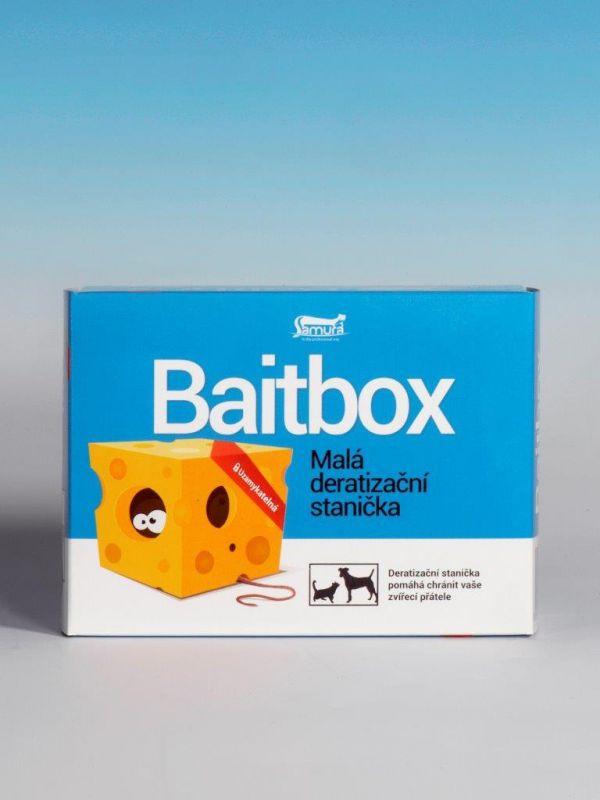 Malá deratizační stanička Baitbox