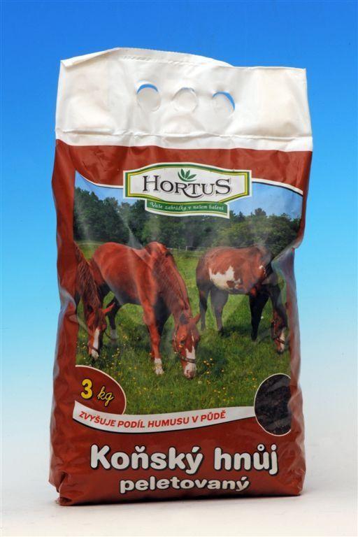 HORTUS KOŇSKÝ HNŮJ 3kg