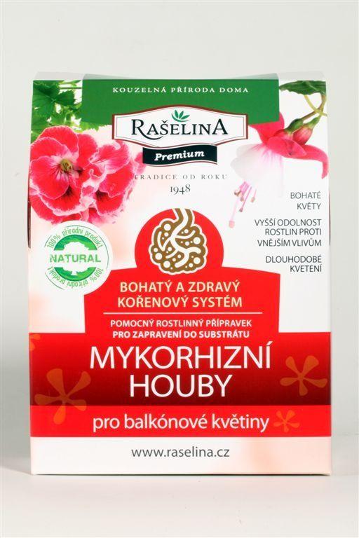 Mykorhizní houby pro balkonové květiny 750g