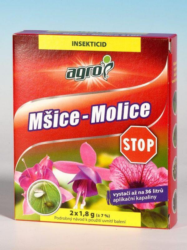 Agro MŠICE-MOLICE STOP 2x1,8g