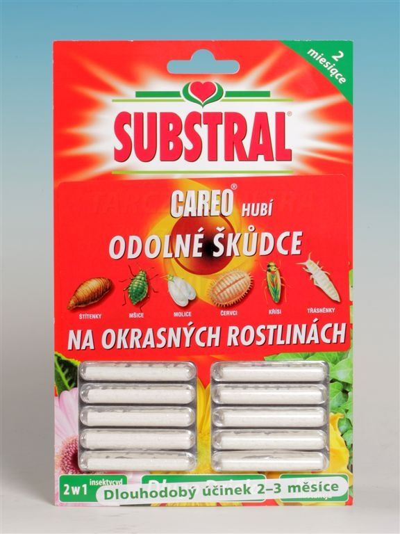 Substral CAREO tyčinky na škůdce 10 ks