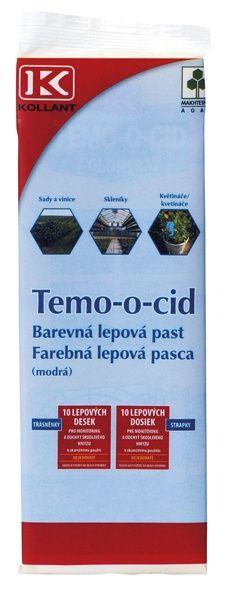 TEMO-O-CID MODRÁ LEPOVÁ PAST 10x25 - 10 ks