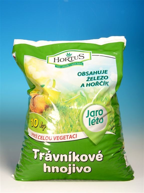 Trávníkové hnojivo HORTUS 10kg