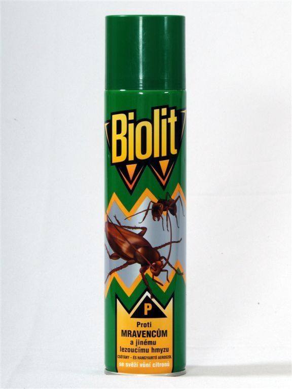 BIOLIT proti lezoucímu hmyzu 300ml
