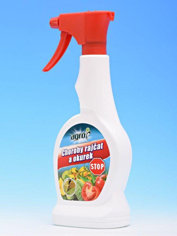 Agro Choroby rajčat a okurek Plíseň Stop RTD 0,5l