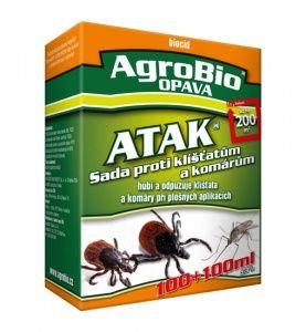 ATAK postřik proti klíšťatům a komárům 100+100ml