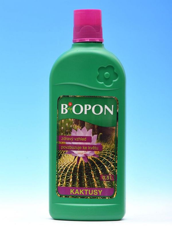 Biopon tekutý - kaktusy 500ml
