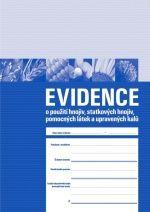 Evidence používání hnojiv - platné od 1.5.2007 do 31.10.2009 - 1 balení (3 sešity)