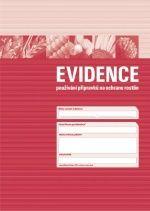 Evidence používání přípravků na ochranu rostlin - platné od 27.6.2009 do 31.10.2012 - 1 balení (3 sešity)