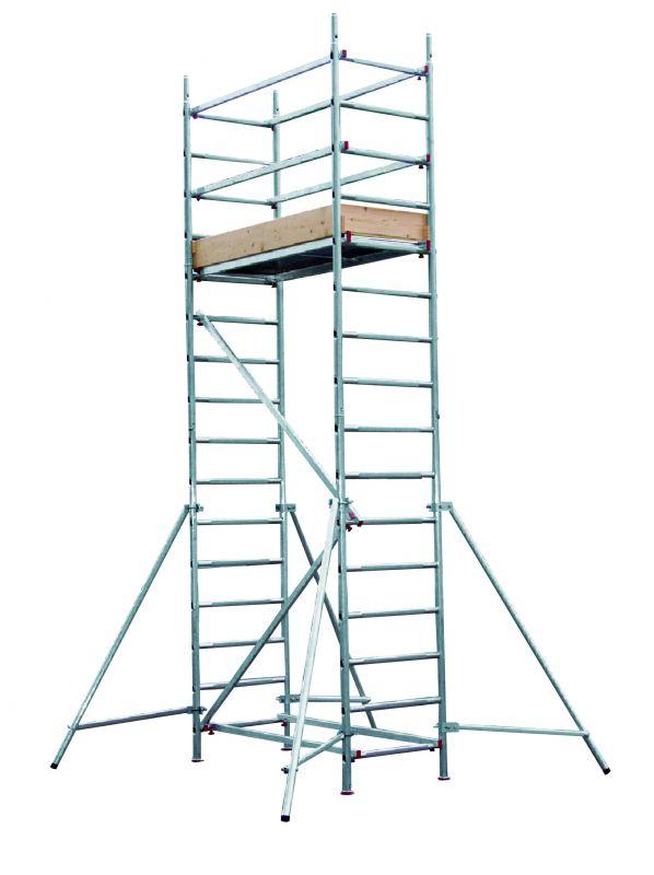 Hliníkové lešení Hymer AL700 pro pracovní výšku 5 metrů