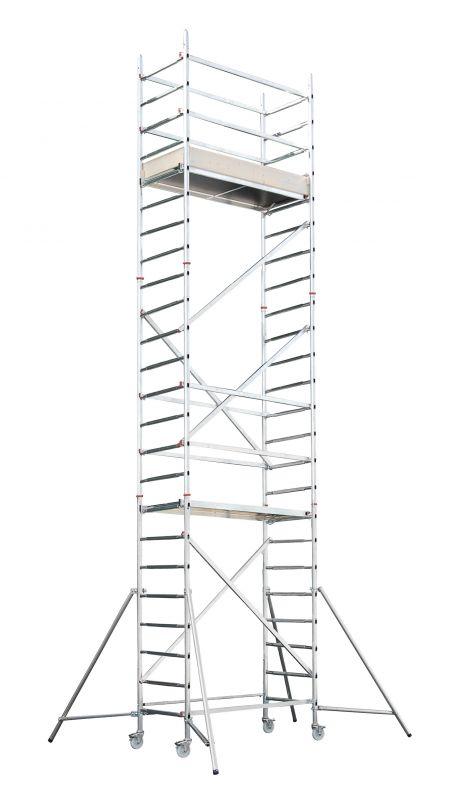 Hliníkové lešení Hymer AL700 pro pracovní výšku 7 metrů