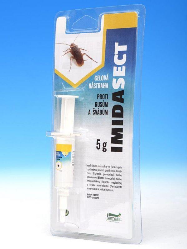 IMIDASECT gelová nástraha proti rusům a švábům 5g