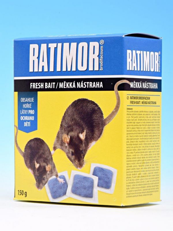 Ratimor měkká nástraha 150g