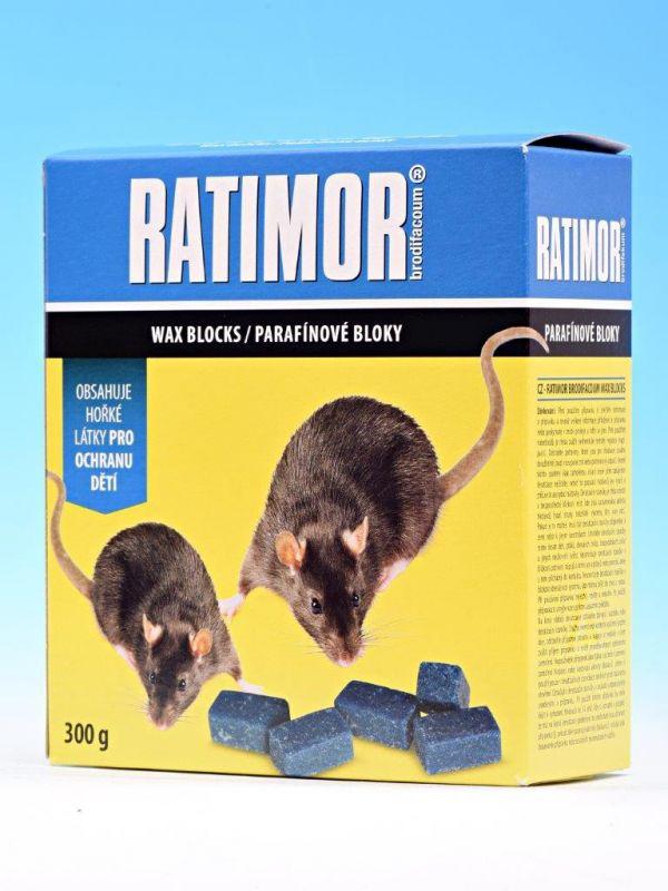 Ratimor parafínové bloky 300g