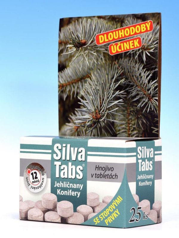 Silva Tabs jehličnany 250g (25 tablet)