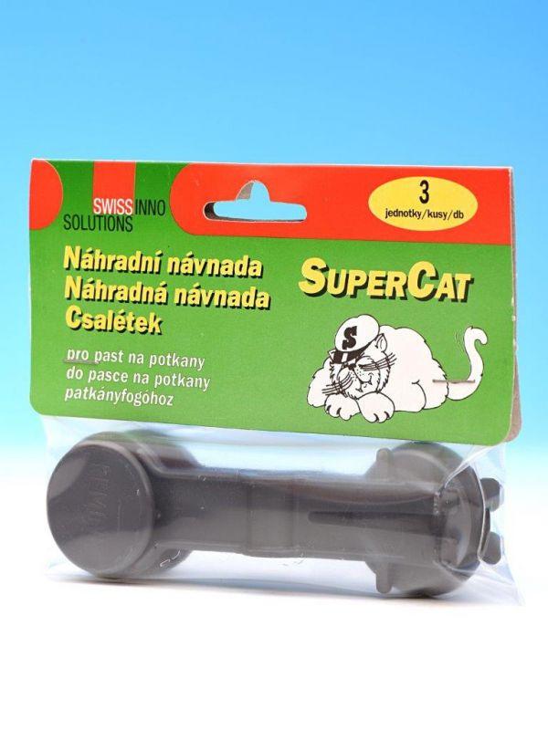 SuperCat náhradní návnada pro past na potkany 3ks