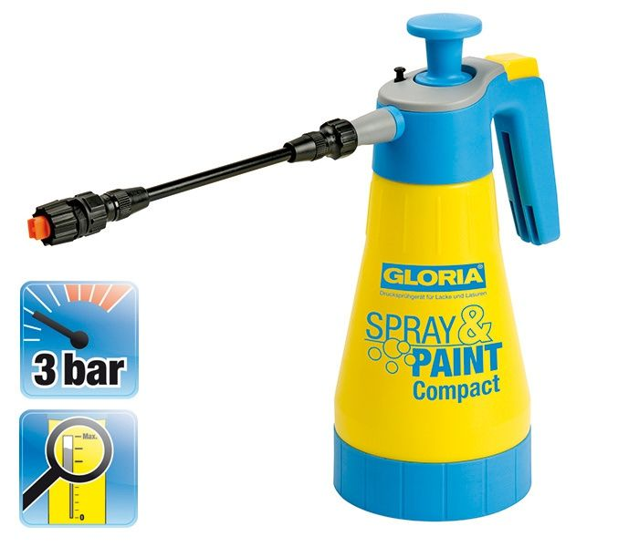Tlakový postřikovač SprayPaint Compact 1,25l GLORIA