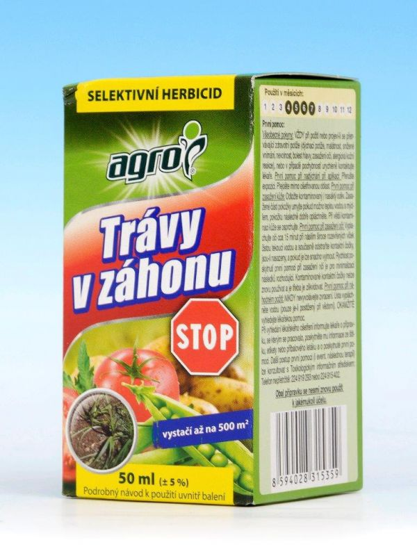 Trávy v záhonu Stop (Targa Super) 50ml Nisso Chemical Europe GmbH