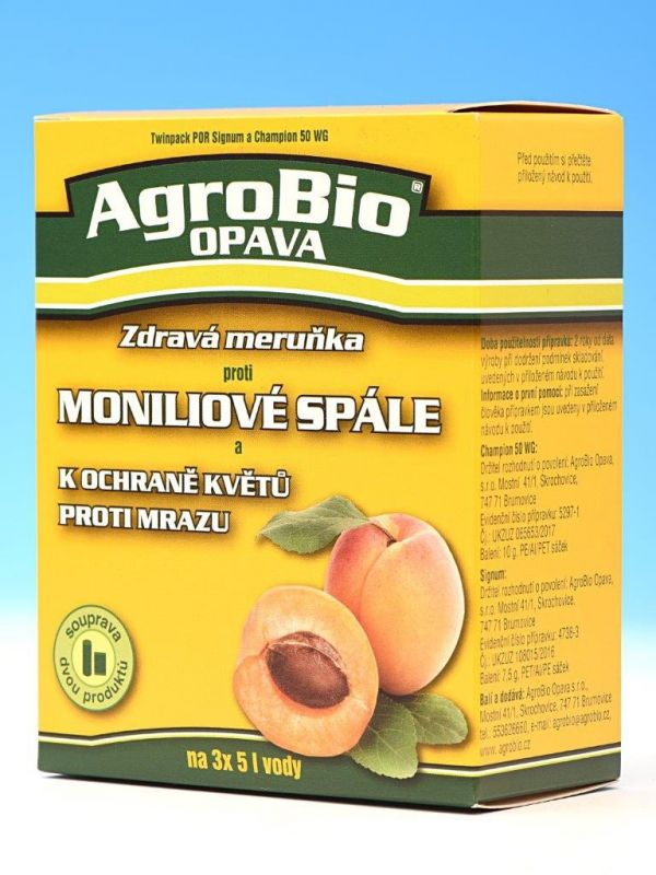 Zdravá meruňka proti moniliové spále