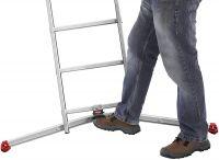 Hliníkový žebřík profi Hailo 3x12 příček