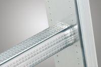 Výsuvný hliníkový štaflový žebřík 2x12 příček