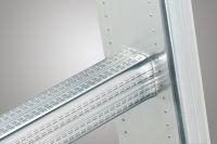 Žebřík hliníkový kombinovaný profi 2x9+8 příček