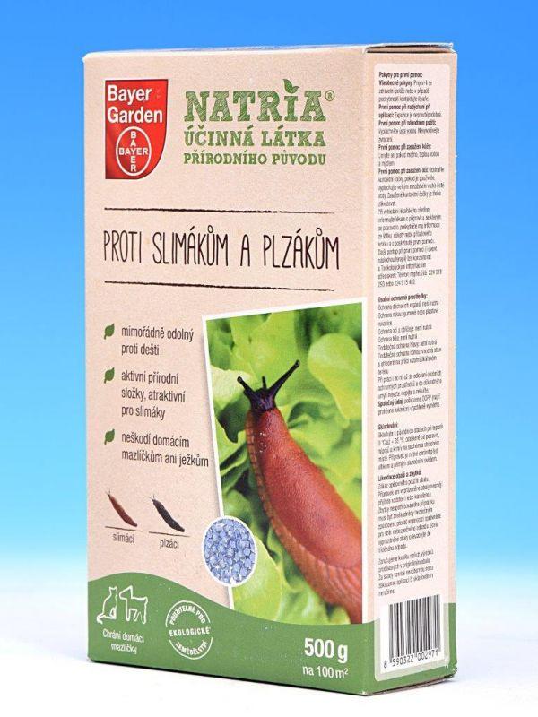 Dárek NATRIA proti slimákům a plzákům 500g
