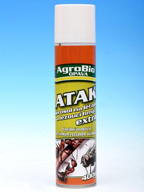 Atak aerosol na létající a louzoucí hmyz Extra 400ml