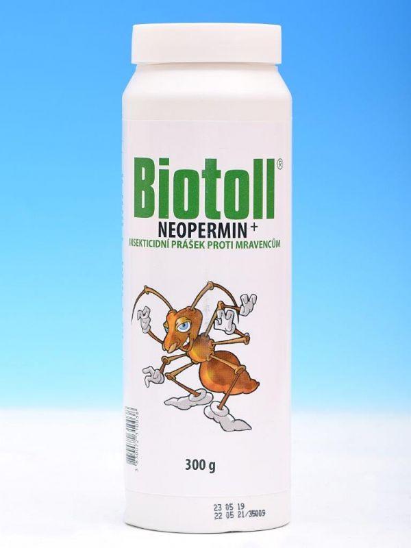 BIOTOLL Neopermin+ prášek proti mravencům 300g