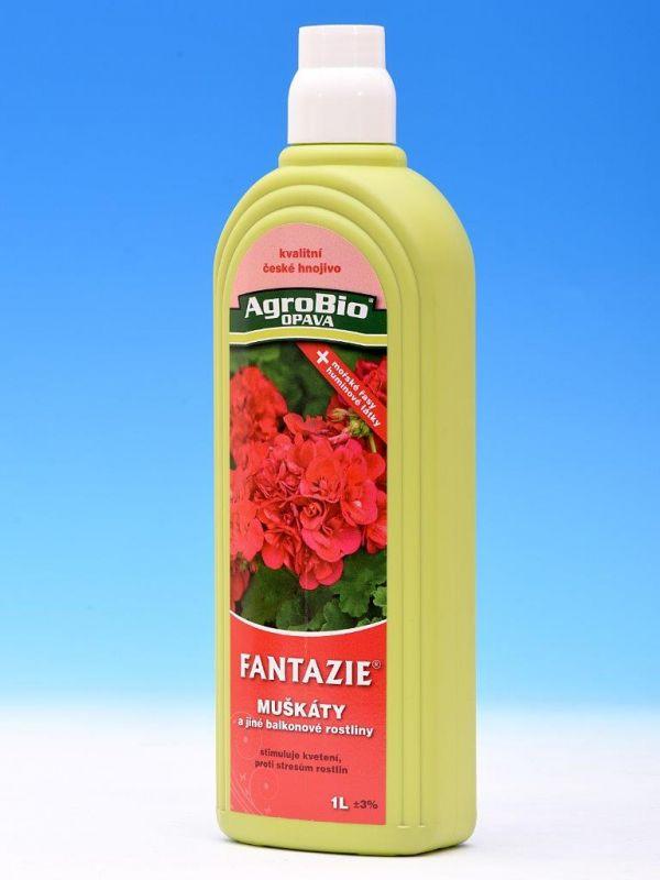 FANTAZIE - Muškát a balkonové rostliny 1l