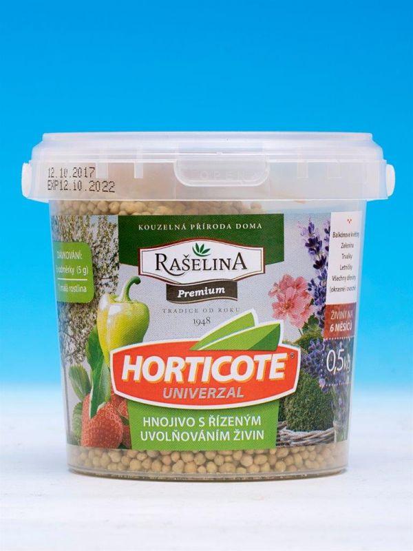 HORTICOTE UNIVERZAL-hnojivo s řízeným uvolňováním živin 0,5kg