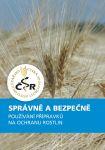 Správně a bezpečně - používání přípravků na ochranu rostlin NOVINKA
