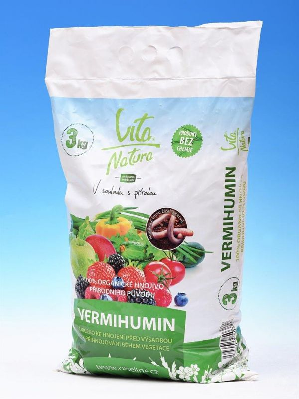 Vita Natura Vermihumin organické hnojivo 3kg