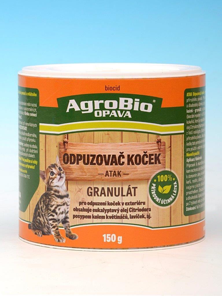 Atak Odpuzovač koček granulát 150g