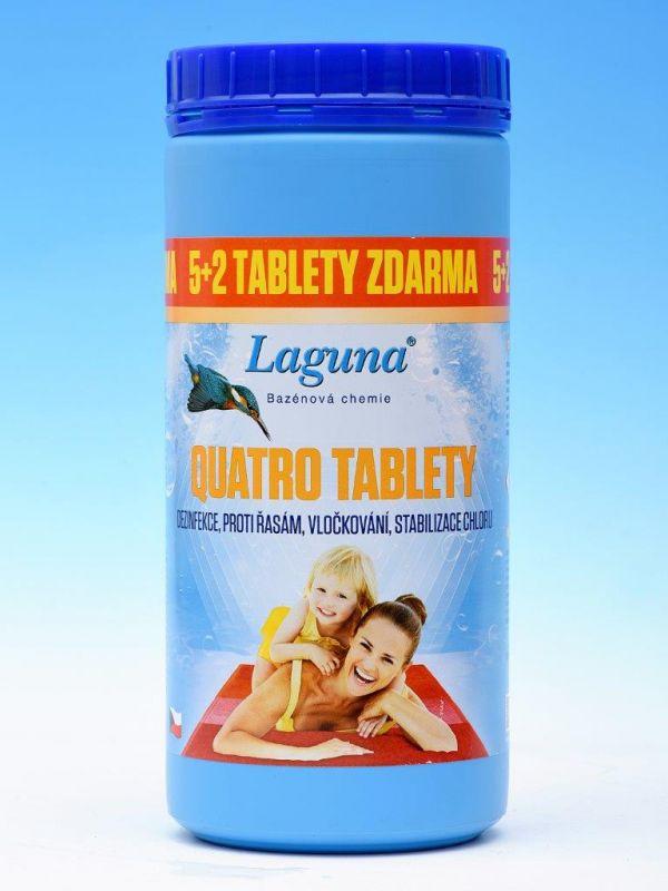 Laguna Quatro tablety Akce 5+2 ZDARMA 1,4kg