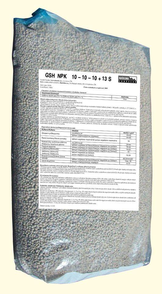 NPK hnojivo 25kg