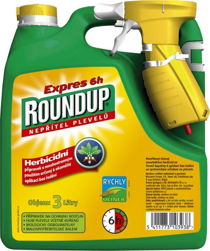 Roundup Expres rozprašovač 3l