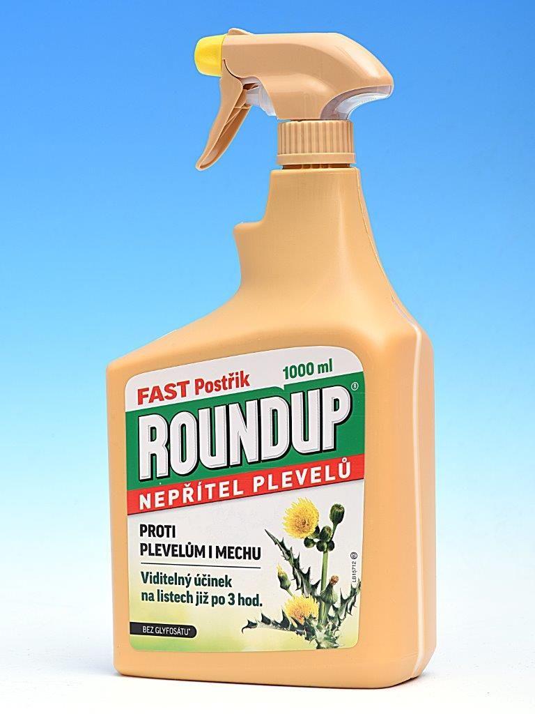 Roundup Fast postřik 1l rozprašovač