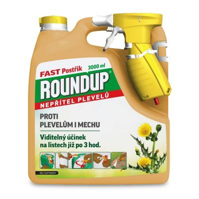 Roundup Fast postřik 3l