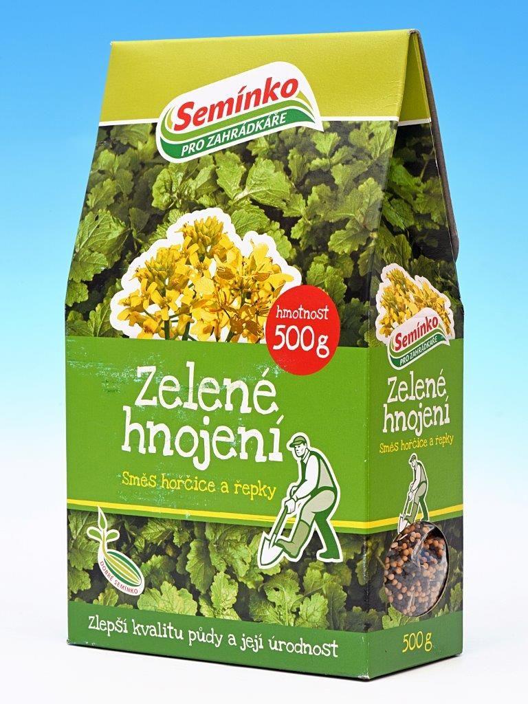 Zelené hnojení Směs hořčice a řepky 500g